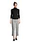 Pantacourt Chino Taille Elastiquée Imprimé, Femme Stature Standard