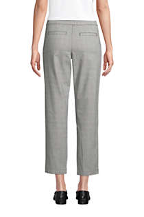 Women's Tall Mid Rise Pull On Chino Crop Pants, Back