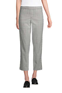 Women's Tall Mid Rise Pull On Chino Crop Pants, Front