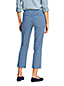 Women's Mid Rise Pull-on Stretch Chino Crops, Patterns