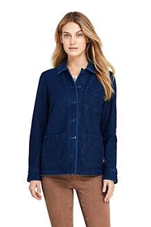 Women's Sport Knit Shirt Jacket