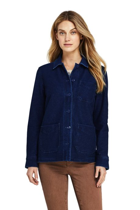 Women's Sport Knit Shirt Jacket