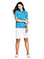 Women's Elbow Sleeve Performance Print Polo Shirt