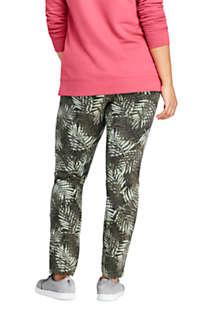 Women's Plus Size Starfish Mid Rise Slim Leg Pants, Back