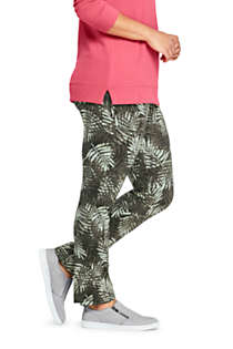 Women's Plus Size Starfish Mid Rise Slim Leg Pants, alternative image