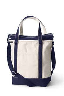 Canvas Market Shopper Tote Bag