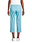 Pantacourt Chino en Coton Stretch Taille Mi-Haute, Femme Stature Petite