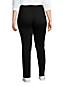 Schwarze Shaping Jeans, Straight Fit High Waist für Damen in Plus-Größe