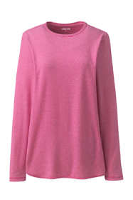 Women's Plus Size Moisture Wicking UPF Sun Long Sleeve Curved Hem Tunic Top