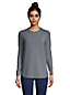 T-Shirt Long Performance Rayé, Femme Stature Standard
