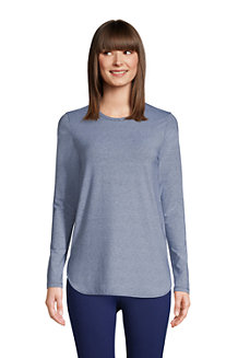 Women's Performance Long Sleeve Dolphin Hem Tunic