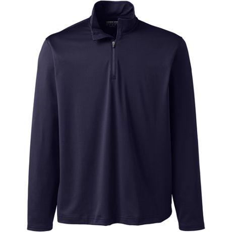 Unisex Rapid Dry Quarter Zip Pullover