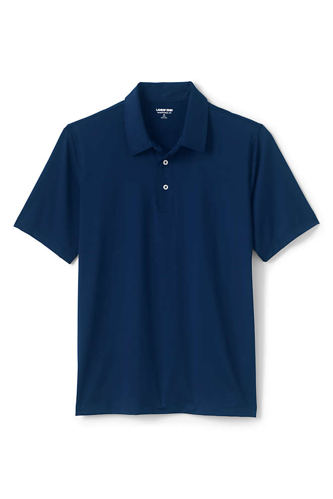 Men's Short Sleeve Comfort-First Golf Polo Shirt, Front