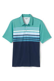 Men's Tailored Fit Short Sleeve Comfort-First Golf Polo Shirt