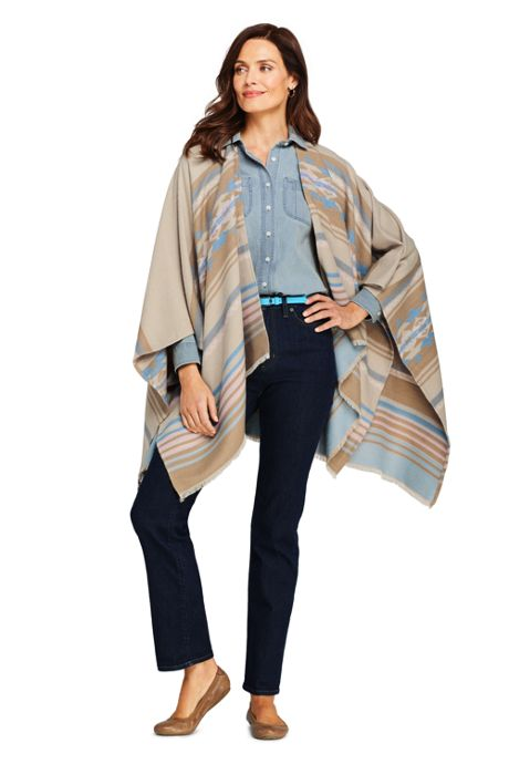 Women's Southwest Shawl Wrap