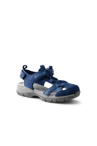 Women's Wide Suede Everyday Walking Sandals