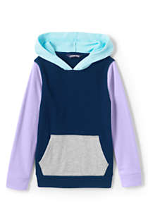Little Kids Colorblock Pullover Hoodie, Front