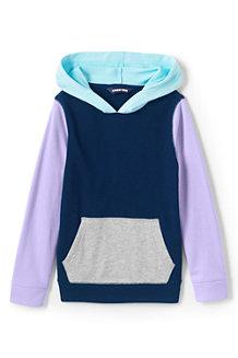 Kapuzen-Sweatshirt mit Colorblocking für Kinder