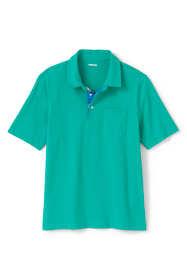 Men's Madras Short Sleeve Super-T Polo Shirt