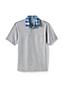 Men's Woven Collar Super-T Polo Shirt