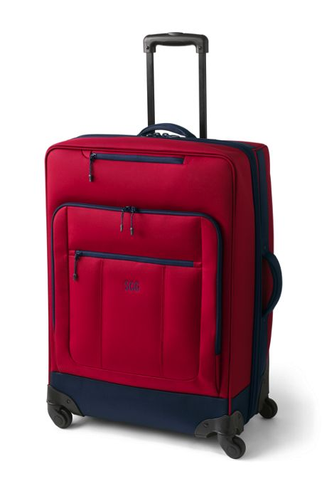 Travel Checked Rolling Luggage Bag