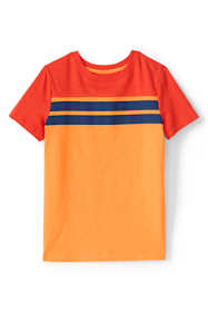 Boys Husky Chest Stripe T Shirt