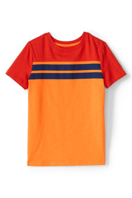 Boys Chest Stripe T Shirt