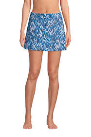 Women's Tummy Control Skirt Swim Bottoms Print