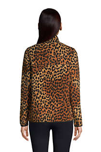 Women's Heritage Fleece Snap Neck Pullover Top, Back