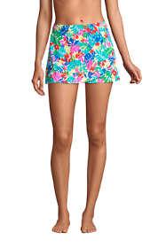 Women's Tummy Control Wrap Mini Swim Skirt Swim Bottoms Print