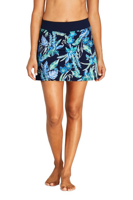 Women's Swim Skirt Swim Bottoms Print