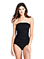 Women's Long Torso Beach Living Bandeau Tankini Top