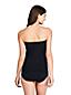 Tankini Bandeau Bonnet D Uni, Femme Stature Standard