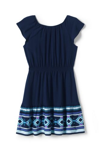 Girls Plus Fit and Flare Dress