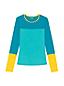 Women's Rash Vest, Colourblock