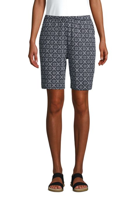 Women's Sport Knit Shorts Print