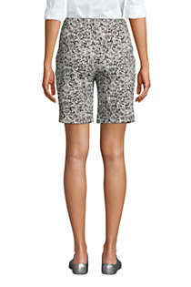 Women's Sport Knit Shorts Print , Back