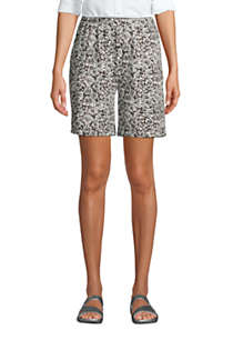 Women's Sport Knit Shorts Print , Front