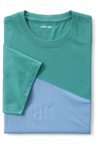 Men's Colorblock Short Sleeve Super Tee