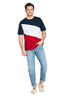 Men's Colorblock Short Sleeve Super Tee, Unknown