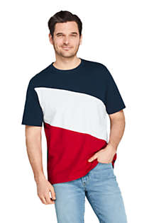 Men's Colorblock Short Sleeve Super Tee, Front