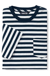 Men's Stripe Short Sleeve Super-T with Pocket, Unknown