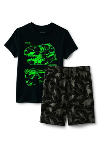 Boys Glow in the Dark Pajama Set