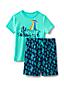 Kurzes Pyjama-Set mit Grafik-Print für Jungen