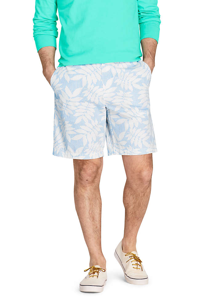 Men S 9 Traditional Fit Knockabout Chino Seersucker Shorts