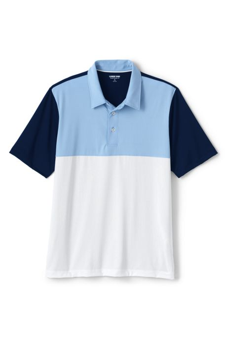 Men's Colorblock Short Sleeve Comfort-First Golf Polo Shirt