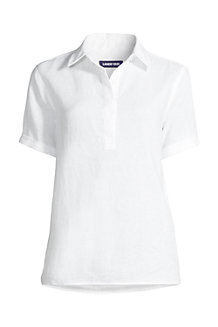 Women's Linen Camp Shirt