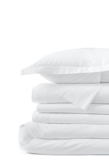 300 Supima Percale Solid Duvet Cover