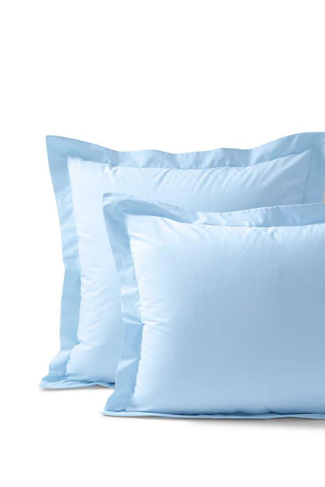300 Supima Percale Solid Sham, Front