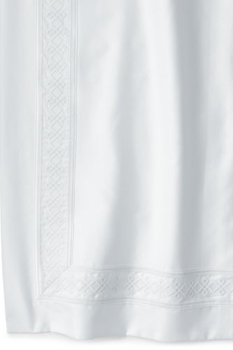 400 No Iron Supima Sateen Embroidered Duvet Cover